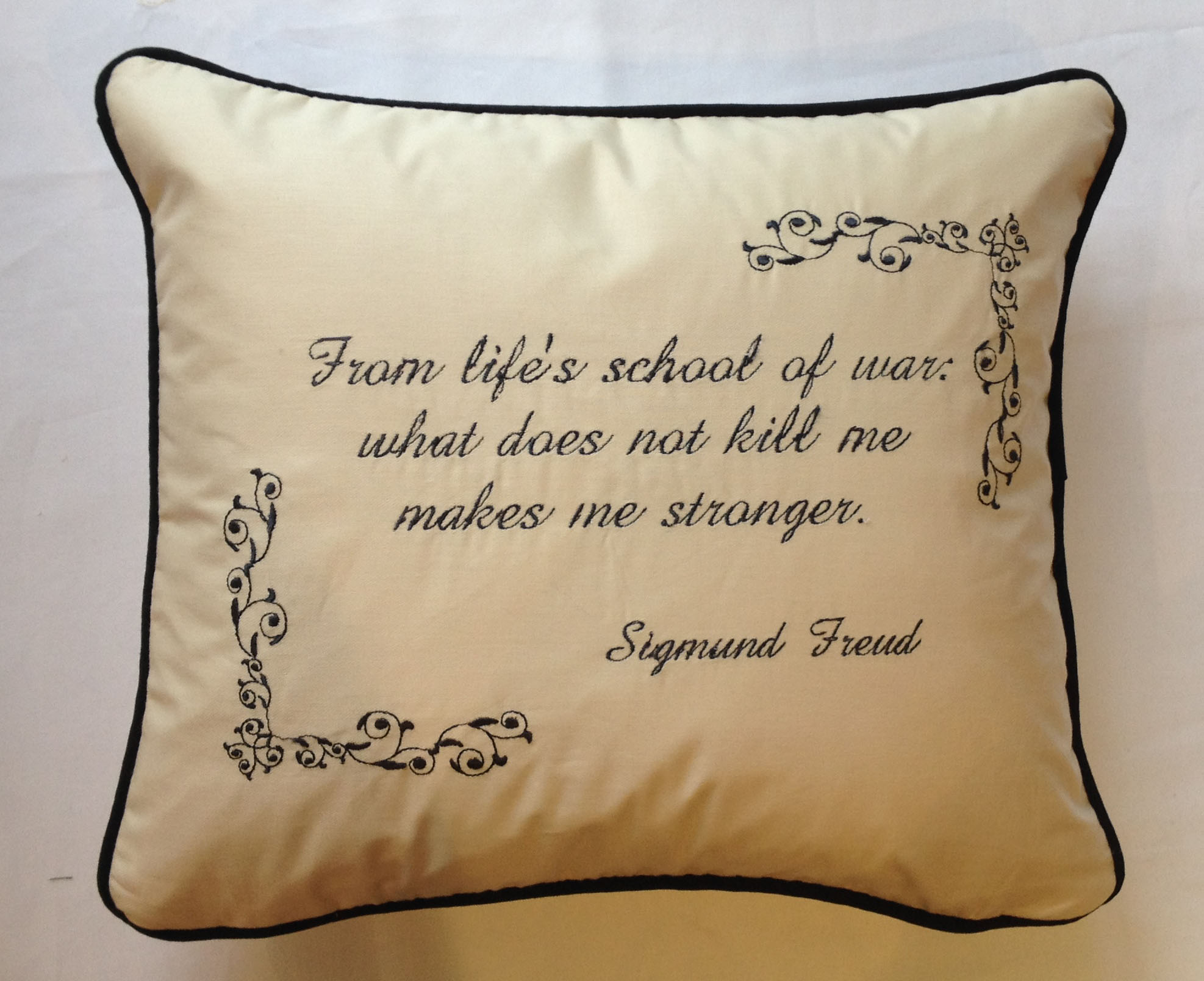 Personalised Luxury Embroidered Fun Cushions Cushions