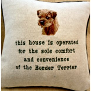 Dogs Have Owners Cats Have Staff Cushion